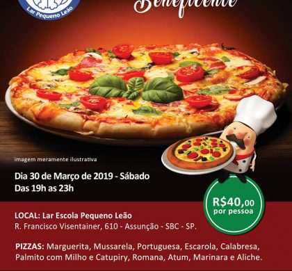 35ª Noite da Pizza Beneficente