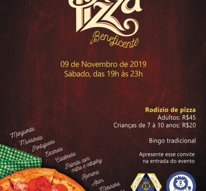 38ª Noite da Pizza Beneficente