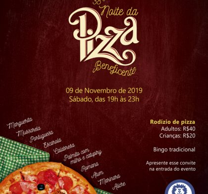 36ª Noite da Pizza Beneficente