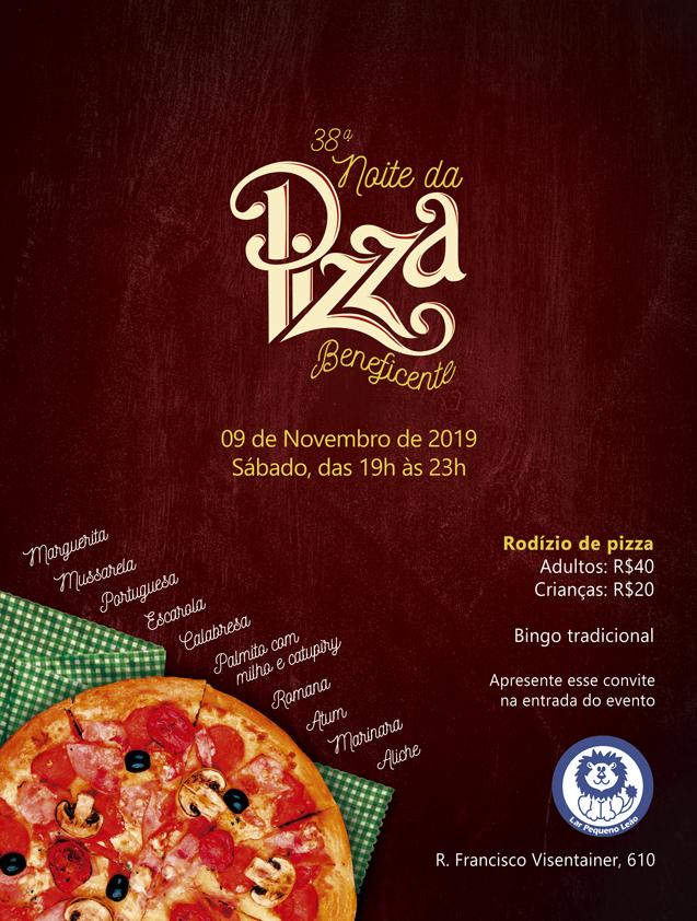 36ª Noite da Pizza Beneficente