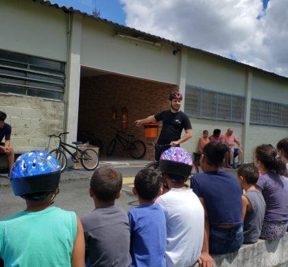 MBigucci entrega bicicletas no Lar Pequeno Leão de São Bernardo