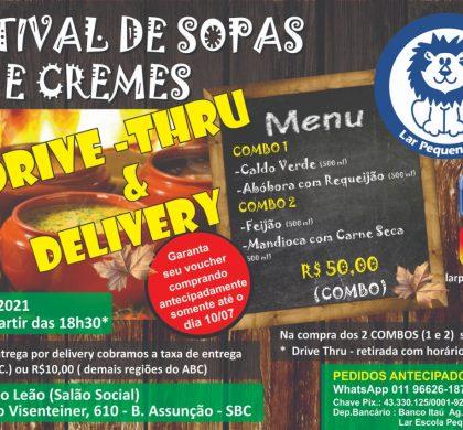 Vem aí o tradicional Festival de Sopas e Cremes do Lar Pequeno Leão em novo formato